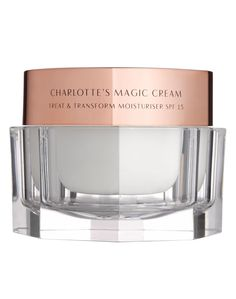This patented SPF moisturizing cream will become her favorite fix for lackluster skin. Charlotte Tilbury Charlotte's Magic Cream, $102