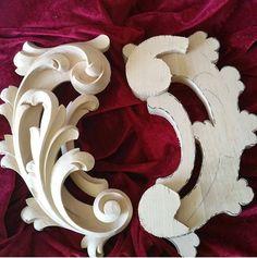 Новини Ornaments Design, Wood Ornaments, Wood Canvas, Wood Art, Styrofoam Art, Foam Carving, Ornamental Mouldings, Woodworking Inspiration, Wood Carving Designs