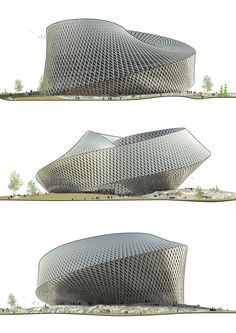 BIG (Bjarke Ingels Group). Multicultural center for Astana, Kazakhstan. Mobius architecture