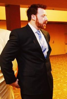 Sheamus with full beard.
