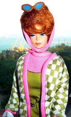 bubble haired barbie | Titian Bubble Cut Barbie in Poodle Parade More