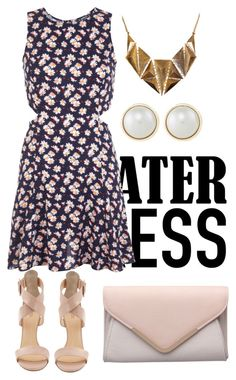 """""""Summer to Fall Skater Dress"""" by arilubl ❤ liked on Polyvore"""