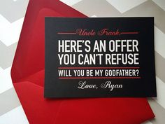Hey, I found this really awesome Etsy listing at https://www.etsy.com/listing/261020747/godfather-card-will-you-be-my-godfather