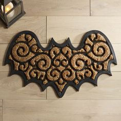 Scroll Bat Doormat | Pier 1 Imports