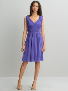 Banana Republic purple dress