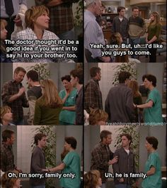 My ex-husband and I watched the entire series.  I love Boy Meets World.  I think Sean is my favorite character