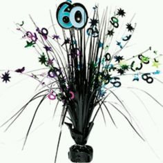 60th birthday table decoration party city