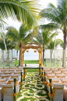 34 Awesome Tropical Wedding Ceremony Ideas Weddingomania | Weddingomania