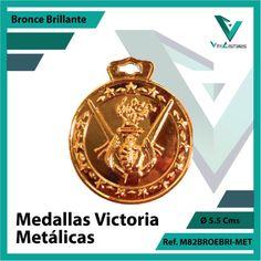 Entregamos sus Medallas en Medellin a Domicilio o Despachamos a Todo el Pais. Ref. M82BROBRI-MET Ø 6cms. Su Cotización en 20 Min. Sin Compromiso Victoria, 20 Min, Licence Plates, Engagement, Countries, Sports