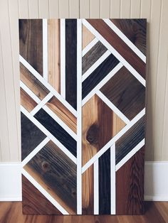 Reclaimed Wood Projects Furniture Diy Wall Art 53 Ideas For 2019 Reclaimed Wood Wall Art, Wooden Wall Decor, Wooden Wall Art, Diy Wall Art, Wooden Walls, Wall Wood, Salvaged Wood, Scrap Wood Art, Art Deco Wall Art