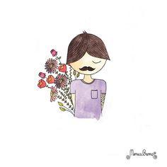 Mônica Crema ilustração <3