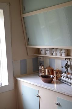 From the old-fashioned, but cozy kitchen.