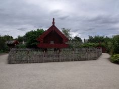 Te Parapara Garden (traditional Maori vege garden)