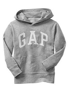 Arch logo oversized hoodie