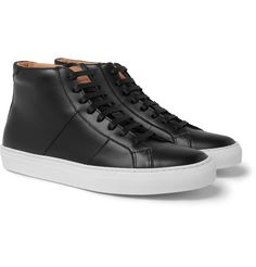 f139666955 GREATS - The Royale Leather High-Top Sneakers Best Sneakers, High Top  Sneakers,
