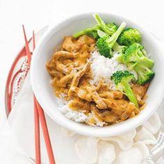 10 september - Broccoli in de bonus - Recept - Milde thaise varkensvleescurry - Allerhande