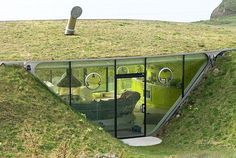 underground green home