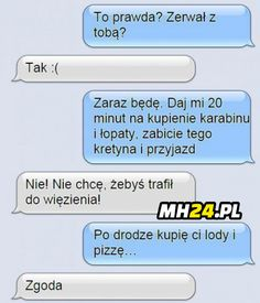 Funny Sms, Funny Messages, Wtf Funny, Polish Memes, Happy Photos, Good Mood, Funny Comics, Best Memes, Jokes