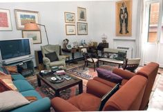 Very cosy and typical #livingroom