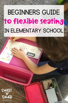 Are you thinking about using flexible seating in your classroom but don't know where to start? In this post, I am sharing how to introduce flexible seating in your elementary classroom. I share flexible seating choice ideas and how to manage your flexible seating. I am also sharing flexible seating storage ideas and how to keep student supplies organized. Find a flexible seating choice chart and flexible seating contract for classroom management. Try a flexible seating classroom today!