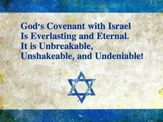 Gods verbond met Israel is eeuwig.