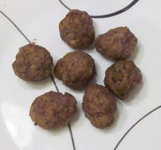 HCG Diet Phase 2 Mini Meatballs  (one of my favorites)
