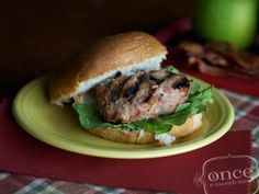 Gluten Free Dairy Free Chicken Apple Bacon Sliders