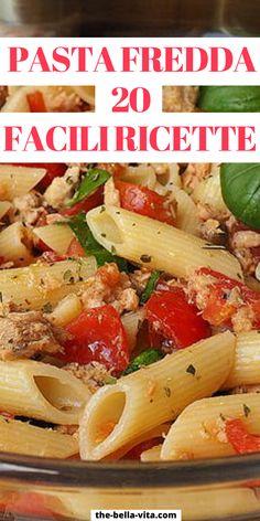 I Love Food, Good Food, Pasta Al Pesto, Penne Vodka, Cooking Recipes, Healthy Recipes, Pasta Salad Recipes, Italian Recipes, Food And Drink