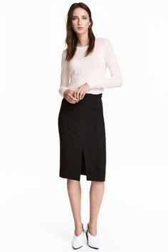 Pencil skirt - Black - Ladies | H&M GB 1