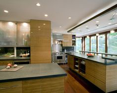 Modern Kitchen Cabinets With Glass Doors