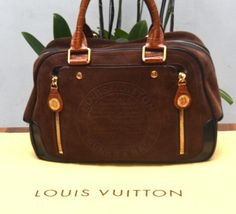 Authentic Louis Vuitton Limited Edition Stamped Trunk
