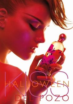 Halloween Kiss Jesus Del Pozo perfume - a fragrance for women 2008 Anuncio Perfume, Cologne, Halloween Kiss, Beauty Spa, Vintage Perfume, Ad Campaigns, Fashion Posters, Arabic Food, Boom Boom