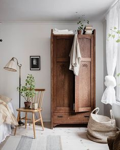 Fresh and cozy home with a vintage touch - My best home design list Home Design, Interior Design, Design Blog, Contemporary Interior, Bedroom Vintage, Vintage Home Decor, Bedroom Rustic, Cheap Home Decor, Diy Home Decor