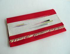 Kaishi-ire - Japanese vintage - tea ceremony - silk - tapestry weaving - WhatsForPudding