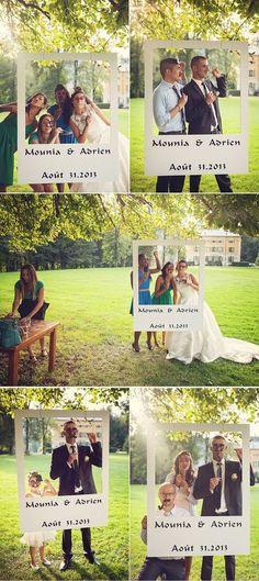 DIY wedding: 30 ideas to make an original photobooth Organisation mariage Wedding Bells, Wedding Reception, Polaroid Wedding, Dream Wedding, Wedding Day, Trendy Wedding, Wedding Vintage, Wedding Trends, Destination Wedding
