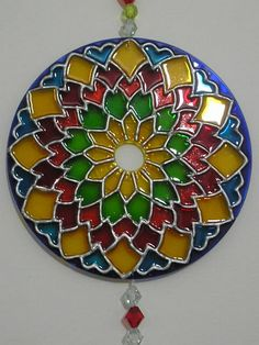 mandala over a cd - Google Search