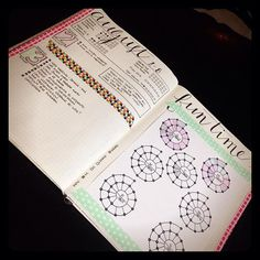 Day 3: How do I set up my planner? I start each week with my habit trackers. If I had weekly goals like thinning out closet they would go below it. The spiraldex tracks my time as a paste-in....couldn't imagine drawing all of those! Then each day starts with my date & bulleted to-do list. Each day is followed by journaling about the day pics etc. The next day begins with the date......and so on.   by thejournalfactory