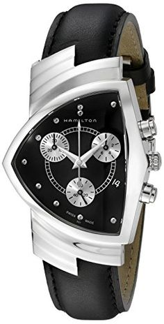 Men's Wrist Watches - Hamilton Mens H24412732 Ventura Chronograph Watch * Want additional info? Click on the image.