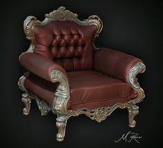 ArtStation - Chair Sculpt, Mark Ranson