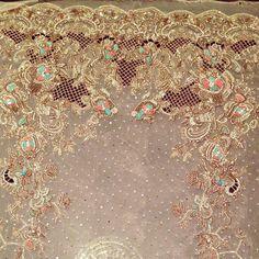 Bridals by Bisma Kayani Tambour Embroidery, Hand Work Embroidery, Embroidery Suits, Hand Embroidery Designs, Tambour Beading, Embroidery Patterns, Walima Dress, Pakistani Dresses, Pakistani Bridal