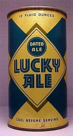 LUCKY AGED ALE ,San Fran ~1938 { $1,000+ } very rare