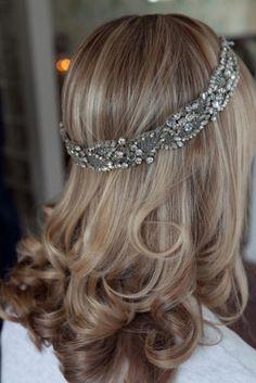 Vintage Jeweled Head Band