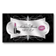Makeup Artist Cosmetologist Business Card by sunnymars Browse more ...