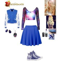 June Sullivan - Daughter of James Sullivan by maxinehearts on Polyvore featuring Topshop, Converse, Joules, INC International Concepts, disney, OC, monsterinc and Descendants