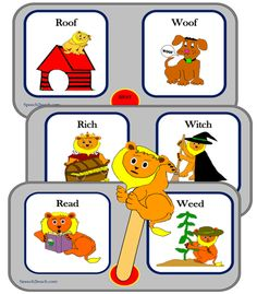 Listening Lions Listen for /r/ and /w/ http://www.teacherspayteachers.com/Product/Listening-Lions-Listen-for-r-and-w-317266