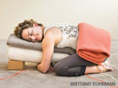 Do You Have Trouble Relaxing in Restorative Yoga? | Yoga Sequences - Yoga Journal