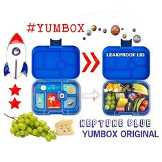 #SneakPeek Over the moon with the the all new Neptune Blue #Yumbox Original with the SPACE tray 🌝☄️💫🚀#YumboxLove #YumboxPH 😍#YumboxOriginal #Space #KitchenTools #MomHack #yumboxbaonideas #baonideas #baon #lunchboxideasph #lunchboxideas #lunchbox #lunchboxloveph  #snackideasph #SnackIdeas  #packedlunch #letsmakelunchfun #lunch #bento #bentobox 🌟#WhatsInMyYumbox #Nasa #Astronaut #star #moon #planet #funfood #spacefun 🌎  Yummery - best recipes. Follow Us! #kitchentools #kitchen