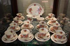 Royal Albert 'Centennial Rose' Teaset for 12