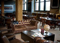 the iron horse hotel in milwaukee. dripping with design inspiration.