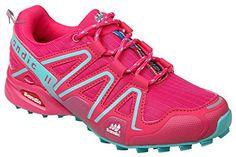 GIBRA® Chaussures de sport, très léger et confortable, rose/turquoise, taille 36–41 - Rose - Pink/Türkis, 39 - Chaussures gibra (*Partner-Link)
